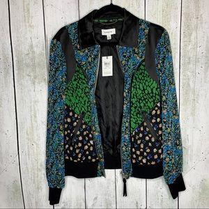 NWT • Coach Framed Varsity Jacket